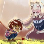Музыка из игры Undertale — Fallen Down